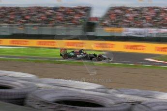World © Octane Photographic Ltd. Saturday 4th October 2014, Japanese Grand Prix - Suzuka. - Formula 1 Qualifying. Sahara Force India VJM07 – Nico Hulkenburg. Digital Ref :