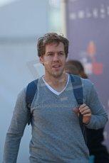 World © Octane Photographic Ltd. 2014 Formula 1 Winter Testing, Circuito de Velocidad, Jerez Winter testing set up day – Monday 27th January 2014. Infiniti Red Bull Racing Sebastian Vettel. Digital Ref : 0879cb1d8840