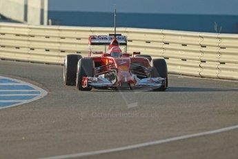 World © Octane Photographic Ltd. 2014 Formula 1 Winter Testing, Circuito de Velocidad, Jerez. Tuesday 28th January 2014. Day 1. Scuderia Ferrari F14T – Kimi Raikkonen. Digital Ref: 0882cb1d9321