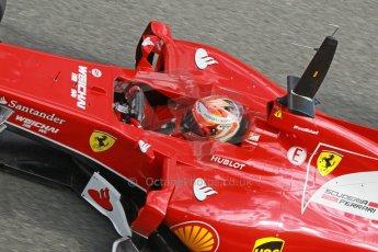 World © Octane Photographic Ltd. 2014 Formula 1 Winter Testing, Circuito de Velocidad, Jerez. Tuesday 28th January 2014. Day 1. Scuderia Ferrari F14T – Kimi Raikkonen. Digital Ref: 0882cb1d9526
