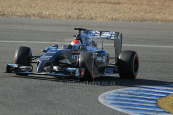 World © Octane Photographic Ltd. 2014 Formula 1 Winter Testing, Circuito de Velocidad, Jerez. Thursday 30th January 2014. Day 3. Sauber C33 – Adrian Sutil. Digital Ref: 0887lb1d2211