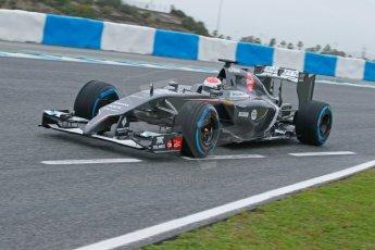 World © Octane Photographic Ltd. 2014 Formula 1 Winter Testing, Circuito de Velocidad, Jerez. Friday 31st January 2014. Day 4. Sauber C33 Ferrari – Adrian Sutil. Digital Ref: 0888cb1d1268