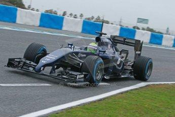 World © Octane Photographic Ltd. 2014 Formula 1 Winter Testing, Circuito de Velocidad, Jerez. Friday 31st January 2014. Day 4. Williams FW36 – Felipe Massa. Digital Ref: 0888cb1d1274