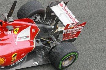 World © Octane Photographic Ltd. 2014 Formula 1 Winter Testing, Circuito de Velocidad, Jerez. Friday 31st January 2014. Day 4. Scuderia Ferrari F14T - Fernando Alonso. Digital Ref: 0888cb1d1635