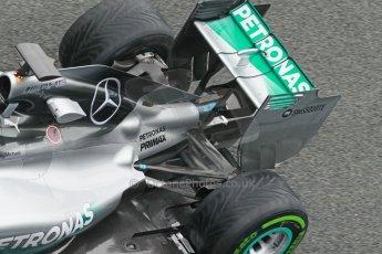World © Octane Photographic Ltd. 2014 Formula 1 Winter Testing, Circuito de Velocidad, Jerez. Friday 31st January 2014. Day 4. Mercedes AMG Petronas F1 W05 - Nico Rosberg. Digital Ref: 0888cb1d1652