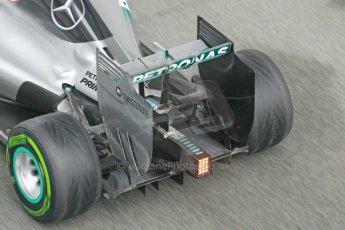 World © Octane Photographic Ltd. 2014 Formula 1 Winter Testing, Circuito de Velocidad, Jerez. Friday 31st January 2014. Day 4. Mercedes AMG Petronas F1 W05 - Nico Rosberg. Digital Ref: 0888cb1d1653