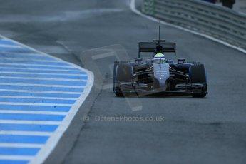 World © Octane Photographic Ltd. 2014 Formula 1 Winter Testing, Circuito de Velocidad, Jerez. Friday 31st January 2014. Day 4. Williams FW36 – Felipe Massa. Digital Ref: 0888lb1d2723
