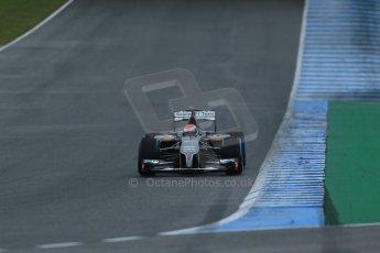 World © Octane Photographic Ltd. 2014 Formula 1 Winter Testing, Circuito de Velocidad, Jerez. Friday 31st January 2014. Day 4. Sauber C33 Ferrari – Adrian Sutil. Digital Ref: 0888lb1d3024