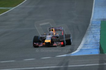 World © Octane Photographic Ltd. 2014 Formula 1 Winter Testing, Circuito de Velocidad, Jerez. Friday 31st January 2014. Day 4. Infiniti Red Bull Racing RB10 – Daniel Ricciardo. Digital Ref: 0888lb1d3033