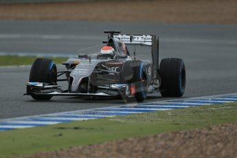 World © Octane Photographic Ltd. 2014 Formula 1 Winter Testing, Circuito de Velocidad, Jerez. Friday 31st January 2014. Day 4. Sauber C33 Ferrari – Adrian Sutil. Digital Ref: 0888lb1d3258