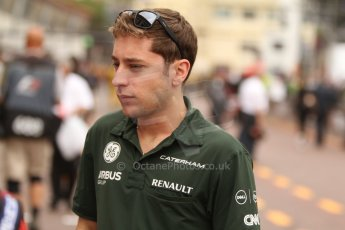 World © Octane Photographic Ltd. Thursday 22nd May 2014. Monaco - Monte Carlo - Formula 1 Practice 1. Caterham F1 Team CT05 – Robin Frijns – Reserve Driver. Digital Ref: 0958CB7D2041