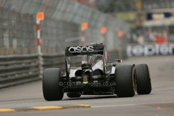 World © Octane Photographic Ltd. Thursday 22nd May 2014. Monaco - Monte Carlo - Formula 1 Practice 1. McLaren Mercedes MP4/29 – Kevin Magnussen. Digital Ref: 0958LB1D3346