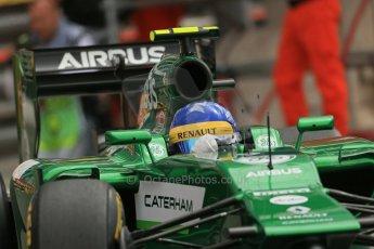 World © Octane Photographic Ltd. Thursday 22nd May 2014. Monaco - Monte Carlo - Formula 1 Practice 1. Caterham F1 Team CT05 – Marcus Ericsson. Digital Ref: 0958LB1D3636