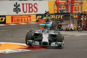 World © Octane Photographic Ltd. Thursday May 22nd 2014. Formula 1 Practice 1. Monaco – Monte Carlo. Digital Ref : 0958LB1D3838