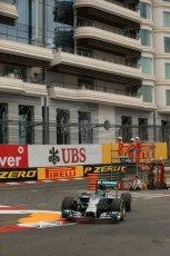 World © Octane Photographic Ltd. Thursday 22nd May 2014. Monaco - Monte Carlo - Formula 1 Practice 1. Mercedes AMG Petronas F1 W05 Hybrid - Nico Rosberg. Digital Ref: 0958LB1D3875