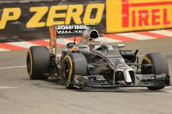 World © Octane Photographic Ltd. Thursday 22nd May 2014. Monaco - Monte Carlo - Formula 1 Practice 1. McLaren Mercedes MP4/29 – Kevin Magnussen. Digital Ref: 0958LB1D4068
