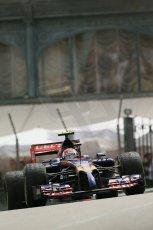 World © Octane Photographic Ltd. Thursday 22nd May 2014. Monaco - Monte Carlo - Formula 1 Practice 2. Scuderia Toro Rosso STR 9 – Daniil Kvyat. Digital Ref: 0960LB1D4698