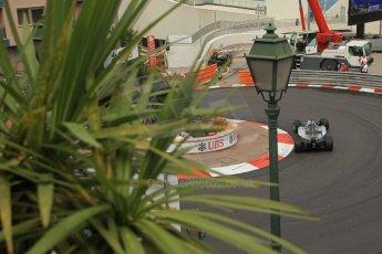 World © Octane Photographic Ltd. Thursday 22nd May 2014. Monaco - Monte Carlo - Formula 1 Practice 2. Mercedes AMG Petronas F1 W05 Hybrid – Lewis Hamilton. Digital Ref: 0960LB1D6687