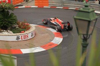 World © Octane Photographic Ltd. Thursday 22nd May 2014. Monaco - Monte Carlo - Formula 1 Practice 2. Marussia F1 Team MR03 - Max Chilton. Digital Ref: 0960LB1D6844