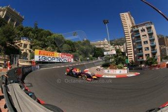 World © Octane Photographic Ltd. Saturday 24th May 2014. Monaco - Monte Carlo - Formula 1 Practice 3. Infiniti Red Bull Racing RB10 – Daniel Ricciardo. Digital Ref: 0965LB1D6801