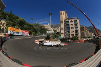 World © Octane Photographic Ltd. Saturday 24th May 2014. Monaco - Monte Carlo - Formula 1 Practice 3. Williams Martini Racing FW36 – Felipe Massa. Digital Ref: 0965LB1D6886