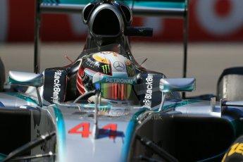 World © Octane Photographic Ltd. Saturday 24th May 2014. Monaco - Monte Carlo - Formula 1 Practice 3. Mercedes AMG Petronas F1 W05 Hybrid – Lewis Hamilton. Digital Ref: 0965LB1D7176