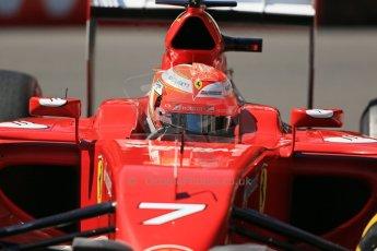 World © Octane Photographic Ltd. Saturday 24th May 2014. Monaco - Monte Carlo - Formula 1 Practice 3. Scuderia Ferrari F14T – Kimi Raikkonen. Digital Ref: 0965LB1D7182