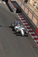 World © Octane Photographic Ltd. Saturday 24th May 2014. Monaco - Monte Carlo - Formula 1 Practice 3. Williams Martini Racing FW36 – Felipe Massa. Digital Ref: 0965LB1D7368