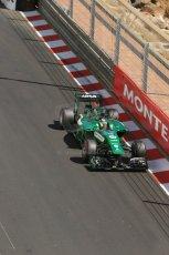 World © Octane Photographic Ltd. Saturday 24th May 2014. Monaco - Monte Carlo - Formula 1 Practice 3. Caterham F1 Team CT05 – Kamui Kobayashi. Digital Ref: 0965LB1D7374