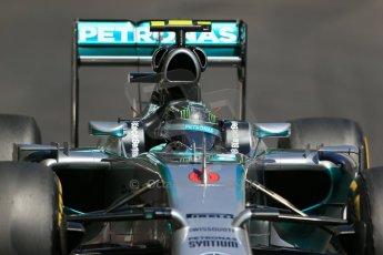 World © Octane Photographic Ltd. Saturday 24th May 2014. Monaco - Monte Carlo - Formula 1 Practice 3. Mercedes AMG Petronas F1 W05 Hybrid - Nico Rosberg. Digital Ref: 0965LB1D7639