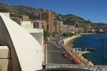 World © Octane Photographic Ltd. Saturday 24th May 2014. Monaco - Monte Carlo - Formula 1 Practice 3. Sahara Force India VJM07 – Nico Hulkenburg. Digital Ref : 0965LB1DX7830