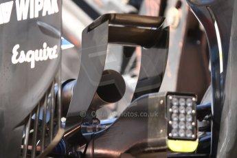 World © Octane Photographic Ltd. Saturday 24th May 2014. Monaco - Monte Carlo - Formula 1 Qualifying. Williams Martini Racing FW36 rear diffuser. Digital Ref: 0967CB7D3270
