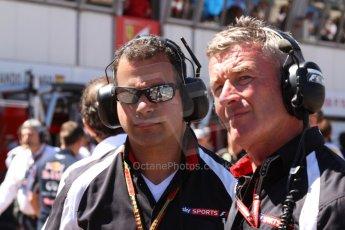 World © Octane Photographic Ltd. Saturday 24th May 2014. Monaco - Monte Carlo - Formula 1 Qualifying. Sky Sport F1 - James Allen. Digital Ref: 0967CB7D3317