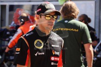 World © Octane Photographic Ltd. Saturday 24th May 2014. Monaco - Monte Carlo - Formula 1 Qualifying. Lotus F1 Team E22 – Pastor Maldonado. Digital Ref: 0967CB7D3349