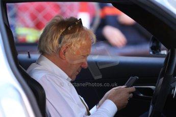 World © Octane Photographic Ltd. Saturday 24th May 2014. Monaco - Monte Carlo - Formula 1 Qualifying. FIA's Charlie Whiting. Digital Ref: 0967CB7D3371