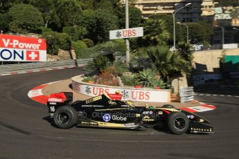 World © Octane Photographic Ltd. World Series by Renault 3.5 - Monaco, Monte Carlo, May 24th 2014 - Qualifying. Lotus – Matthieu Vaxiviere . Digital Ref : 0966LB1D7533