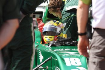 World © Octane Photographic Ltd. Friday 23rd May 2014. GP2 Feature Race – Monaco, Monte Carlo. Rio Haryanto - EQ8 Caterham Racing. Digital Ref : 0963CB7D2694
