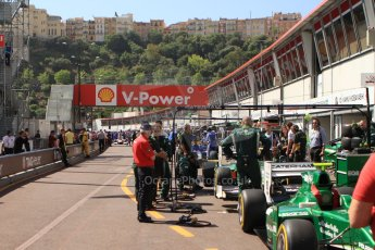 World © Octane Photographic Ltd. Friday 23rd May 2014. GP2 Feature Race – Monaco, Monte Carlo. Alexander Rossi - EQ8 Caterham Racing. Digital Ref : 0963CB7D5108