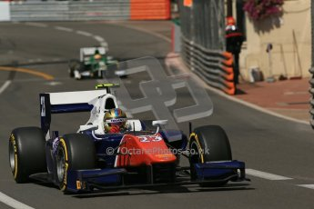 World © Octane Photographic Ltd. Friday 23rd May 2014. GP2 Feature Race – Monaco, Monte Carlo. Johnny Cecotto - Trident. Digital Ref : 0963LB1D5021