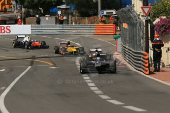 World © Octane Photographic Ltd. Friday 23rd May 2014. GP2 Feature Race – Monaco, Monte Carlo. Mitch Evans - RT Russian Time. Digital Ref : 0963LB1D5633