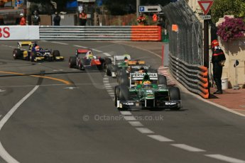 World © Octane Photographic Ltd. Friday 23rd May 2014. GP2 Feature Race – Monaco, Monte Carlo. Rio Haryanto - EQ8 Caterham Racing. Digital Ref : 0963LB1D5652