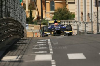 World © Octane Photographic Ltd. Friday 23rd May 2014. GP2 Feature Race – Monaco, Monte Carlo. Felipe Nasr - Carlin. Digital Ref : 0963LB1D6027