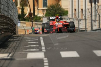 World © Octane Photographic Ltd. Friday 23rd May 2014. GP2 Feature Race – Monaco, Monte Carlo. Andre Negrao - Arden International. Digital Ref : 0963LB1D6035