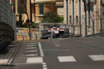 World © Octane Photographic Ltd. Friday 23rd May 2014. GP2 Feature Race – Monaco, Monte Carlo. Stoffel Vandoorne - ART Grand Prix. Digital Ref : 0963LB1D6188
