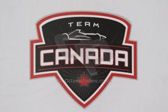 World © Octane Photographic Ltd. Protyre Formula Renault Championship. June 1st 2014.  Race 2 – Castle Donington. Patrick Dussault – Cliff Dempsey Racing - Team Canada. Digital Ref : 0975CB1D0487
