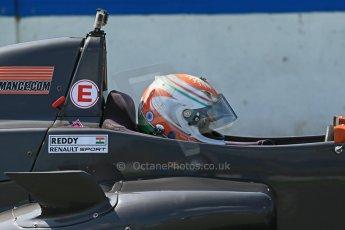 World © Octane Photographic Ltd. Protyre Formula Renault Championship. June 1st 2014.  Race 2 – Castle Donington. Tarun Reddy – MGR Motorsport. Digital Ref : 0975CB1D0571