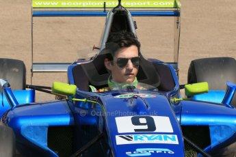 World © Octane Photographic Ltd. Protyre Formula Renault Championship. June 1st 2014.  Race 2 – Castle Donington. Piers Hickin – Scorpio Motorsport. Digital Ref : 0975CB1D0965