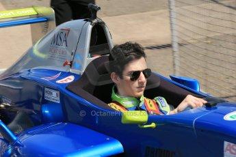 World © Octane Photographic Ltd. Protyre Formula Renault Championship. June 1st 2014.  Race 2 – Castle Donington. Piers Hickin – Scorpio Motorsport. Digital Ref : 0975CB1D0968