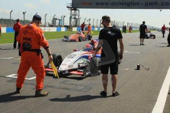 World © Octane Photographic Ltd. Protyre Formula Renault Championship. June 1st 2014.  Race 2 – Castle Donington. Pietro Fittipaldi – MGR Motorsport. Digital Ref : 0975CB1D8892