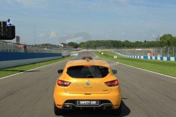 World © Octane Photographic Ltd. Protyre Formula Renault Championship. June 1st 2014.  Race 2 – Castle Donington. Renault Safety Car. Digital Ref : 0975CB1D8903